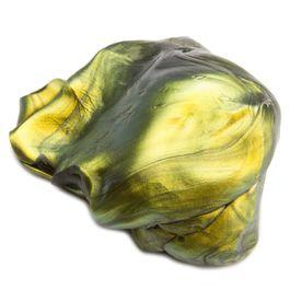 Intelligent putty 'Super-Olievlek' soort 'Flip-Flop', groen-goud-zwart