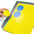 voor whiteboards & planborden, 12 symbolen per A4-blad, in verschillende kleuren