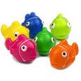 Decoratieve magneten in de vorm van vissen, Set van 6 stuks