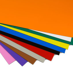 MS-A4, Gekleurde magneetfolie, om te etiketteren en te knutselen, A4-formaat