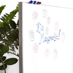 MS-100500MWBM, Whiteboardfolie magnetisch, achterzijde magnetisch, rol van 1 x 5 m, geen hechtondergrond voor magneten!
