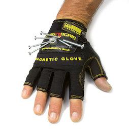 WS-FMG-L, Magnethandschuh L, für Nägel, Schrauben, Bits etc., Größe L