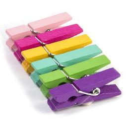 LIV-99, Kolor Klip, gekleurde wasknijpermagneten, set van 6