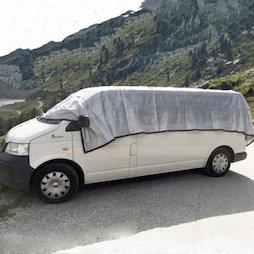 M-ALU-0306, Alunet filet d'ombrage 80% L, protection pour voiture et jardin, 3 x 6 m