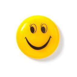 LIV-117, Smiley 'Girl', geplastificeerd, geel