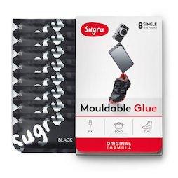SUG-08, Sugru pak van 8, vormbare kleefmassa, in verschillende kleuren, pakjes van 5 g elk