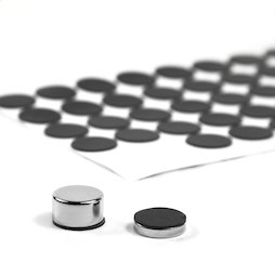 M-SIL-15, Siliconschijfjes Ø 15 mm, zelfklevend, 60 stuks per set
