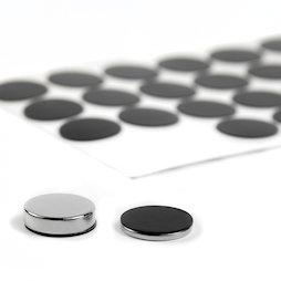 M-SIL-20, Disques en silicone Ø 20 mm, autocollants, lot de 36