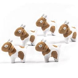 LIV-133, Chèvres, aimants décoratifs en forme de chèvre, lot de 5
