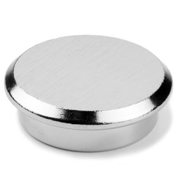 PBM-30, Steel 30, office magnet neodymium made of steel, Ø 30 mm