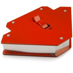 WS-WLD-02, Schweißhilfe groß, magnetisch, mit Ein-/Aus-Schalter, Seitenlänge ca. 12 cm