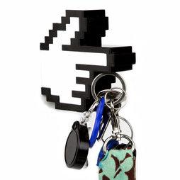 M-49, Sleutelhouder magnetisch 8-bit-hand, met magnetische wijsvinger, achterzijde magnetisch
