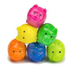 LIV-62, Petits cochons, aimants décoratifs en forme de cochons, lot de 6